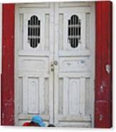 Nicaragua Door 1 Canvas Print