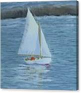 Nice Day For A Sail Canvas Print
