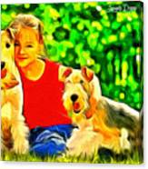 Nice Kids Canvas Print