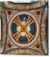 Niche Inlay At Our Lady Of Victory Canvas Print