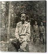 Nicholas II (1868-1918) Canvas Print