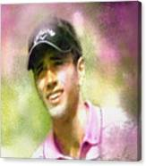 Nick Dougherty In The Golf Trophee Hassan II In Morocco Canvas Print