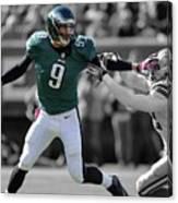 Nick Foles Eagles Super Bowl 2 Canvas Print