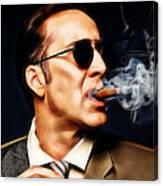 Nicolas Cage Collection Canvas Print