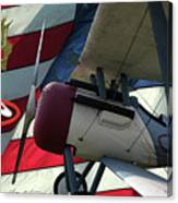 Nieuport 28c Hat In The Ring Canvas Print
