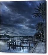Night At The Bayou Canvas Print