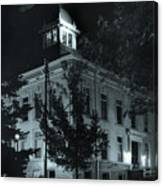 Night At The Court House Canvas Print