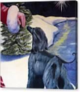 Night Before Xmas Canvas Print