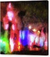 Night City Lights Canvas Print