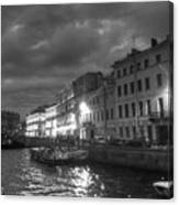 Night City Peterburg Canvas Print