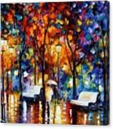 Night Copenhagen Canvas Print