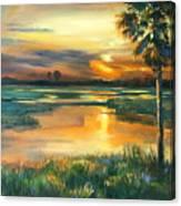 Night Descends Canvas Print