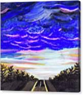 Night Drives #2 Canvas Print