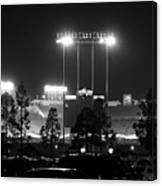 Night Game Canvas Print