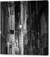 Night In Palermo Canvas Print