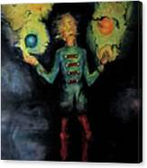 Night Juggler Canvas Print
