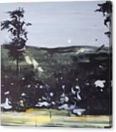 Night Landscape From Documentary Still Canvas Print