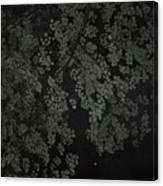 Night Leaves II Canvas Print