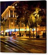 Night Moods San Jose Ca  Canvas Print