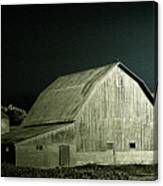 Night On The Farm Canvas Print