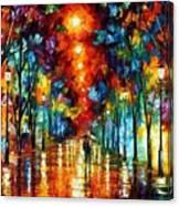 Night Park Canvas Print