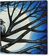 Night Perch Canvas Print