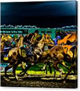 Night Racing Canvas Print
