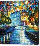 Night River Canvas Print