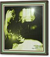 Night Search No. 14 With Decorative Ornate Printed Frame. Canvas Print