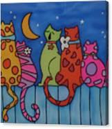 Night Singers   Canvas Print