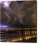 Night Storm Canvas Print
