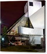 Night Time At The Rock Hall Canvas Print