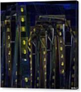 Night Trestle Canvas Print