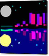 Night View Canvas Print