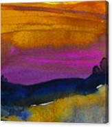 Nightfall 04 Canvas Print
