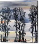 Nightfall Approaching Canvas Print