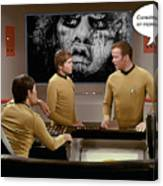 Nightmare At 20,000 Light-years Canvas Print