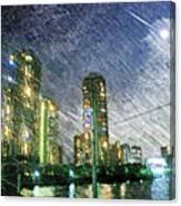 Tokyo River Canvas Print