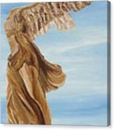 Nike Goddess Of Victory Canvas Print