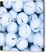 Nike Golf Balls Canvas Print