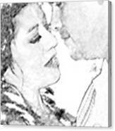 Nikki And Kris Passion Canvas Print