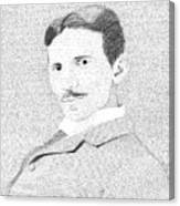 Nikola Tesla In His Own Words Canvas Print