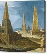 Nimrod Amongst The Monuments Canvas Print