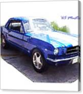 Nineteen Sixty-five Mustang Canvas Print
