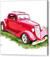 Nineteen Thirty-two Ford Coupe Canvas Print