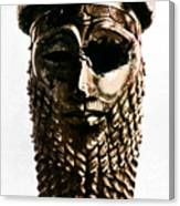 Nineveh: Bronze Head Canvas Print
