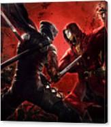 Ninja Gaiden 3 Canvas Print