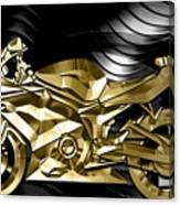 Ninja Motorcycle Collection Canvas Print