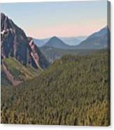 Nisqually Valley In Color Canvas Print
