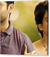 Nithin Samantha A Aa Telugu Movie Canvas Print